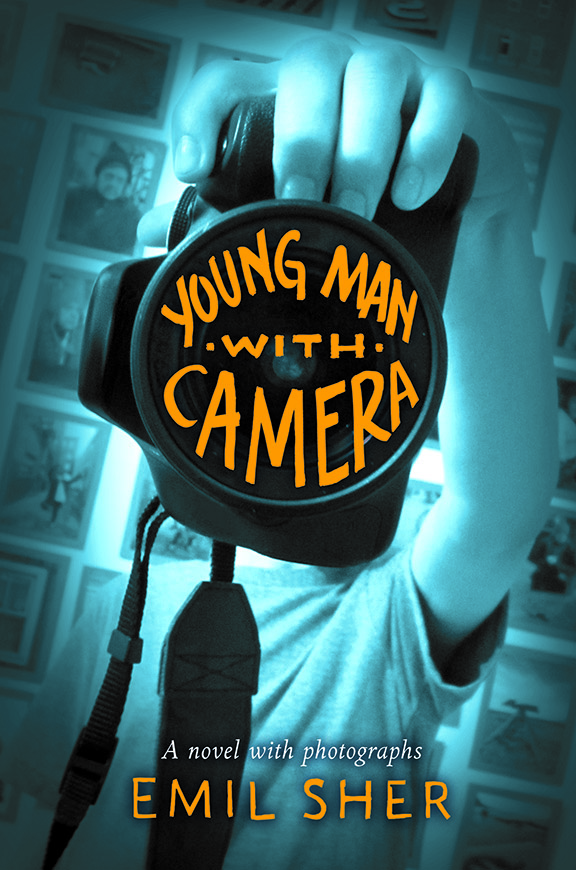 Book cover Young Man with a Camera